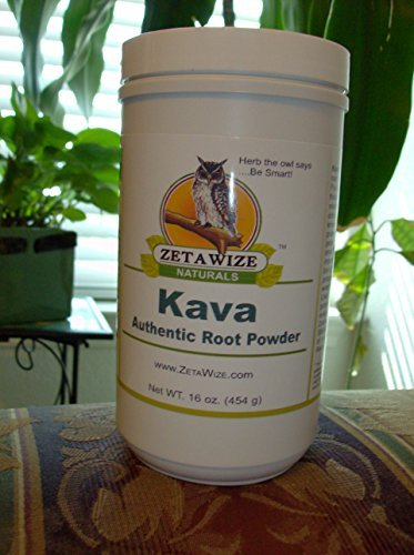 Kava - Premium Ultra-fine Powder * No Preservatives * All Root Powder - Not an Extract * Dietary Supplement * Naturally Relaxing * 13 oz Size