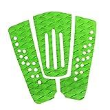 Gazechimp 3x EVA Almohadilla de Tracción para Cola de Tabla de Surf Tail Pads - Verde