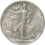 1944 Walking Liberty Half Dollar 90% Silver Extra Fine