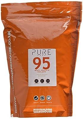 Bodybuilding Warehouse Pure Whey Protein Isolate 95 (Italian Vanilla Milkshake, 1kg)