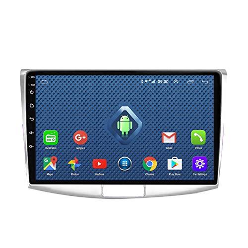 Android 10.0 Radio Stereo Coche 9 Pulgadas 2.5D HD Pantalla Táctil Navegación GPS Ser Aplicable para VW Passat 7 (2010-2015) Apoyo Manos Libres WiFi 4G SWC DSP FM Am Mirror Link 1080P 2G+32G