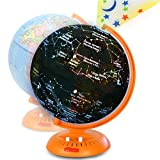 Little Experimenter Globe for Kids: 3-in-1 World Globe with Illuminated Star Map