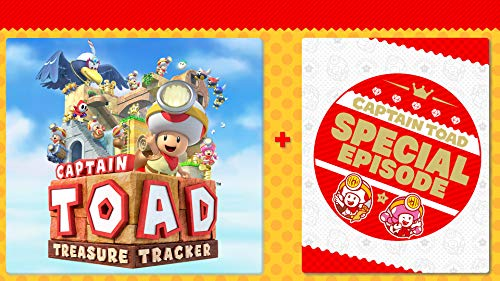 Captain Toad: Treasure Tracker + Special Episode DLC Bundle - Nintendo Switch [Digital Code]