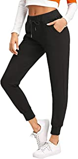 YOUNG TRENDZ Women's Track Pants (WOM_Jog_Black_Small)