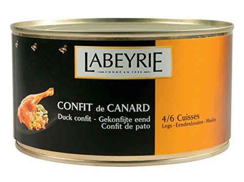 Labeyrie Confit de Canard 4 bis 6 Entenkeulen Enten-Confit 1280g