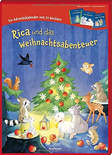 Rica und das Weihnachtsabenteuer: Ein Adventskalender mit 24 Büchlein (Adventskalender mit Geschichten für Kinder: Mit 24 Mini-Büchern)