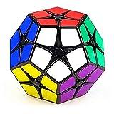 CuberSpeed Shengshou 2x2 Megaminx Black Speed Cube ShengShou Kilominx Megaminx 2x2 Black Speed Cube