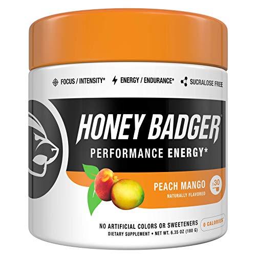 Honey Badger Vegan Keto Pre Workout