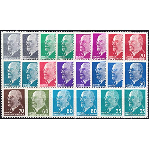 Goldhahn DDR Ulbricht Spezial 22 Werte postfrisch ** Briefmarken für Sammler