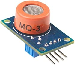Solu ®Mq-3 Alcohol Ethanol Sensor Gas Detector Sensor Gas Sensor for Arduino//gas Sensor Mq-3 Alcohol Sensor Gas Detector, Sensor Module//mq3 Alcohol Ethanol Sensor Breath Gas Detector Ethanol Detection