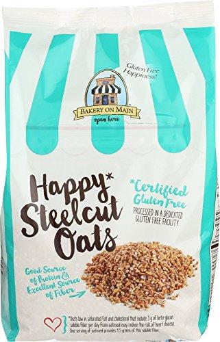 Bakery On Main Cereal Steel Cut Oats gluten free, 24 oz
