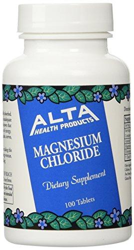 Alta Health Alta health Magnesium Chloride 100 (Pack of 2), 100 Count