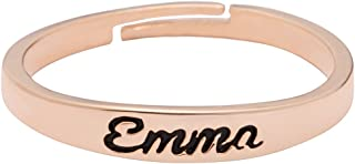 Yiyang Personalized Name Ring for Women Unique Gifts for Her