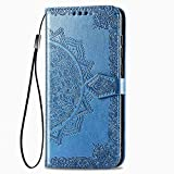 LAGUI Attractive Embossed Flip Cover Wallet Case Compatible