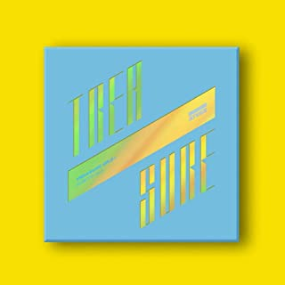 ATEEZ - TREASURE EP.3 [WAVE] ONE TO ALL Album CD+Photo Booklet+Folding Poster+Photo Card+PostCard+Sticker