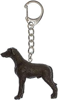Deutsche Dogge Schwarz Schlüsselanhänger Miniblings Anhänger Schlüsselring Hund