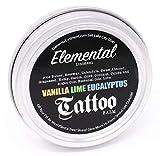 Elemental All Natural Tattoo Balm Vanilla Lime Eucalyptus