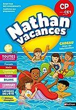 Cahier de Vacances 2019 du CP vers le CE1 - Toutes les Matières - Nathan Vacances - 6/7 Ans de Véronique Calle