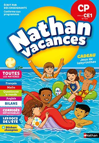 Cahier de Vacances 2019 du CP vers le CE1