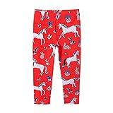 Leggings para Niñas Unicornio Niños Leggins Cálida Pantalones Invierno