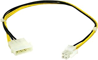 C2G ATX Power Supply to Pentium 4 Power Adapter Cable ATX 4-Pin Molex Adaptador de Cable - Adaptador para Cable (ATX 4-Pin, Molex)