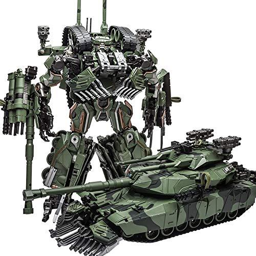 WJ Transformer Brawl KO Leader Camouflage Tank Mode Alloy Oversize 28CM Action Figure Robot Model Toys