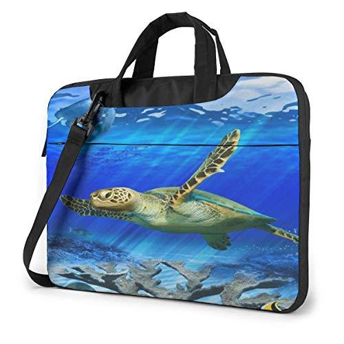 Turtle Unisex Laptop Bag Messenger Shoulder Bag for Computer Briefcase Carrying Sleeve