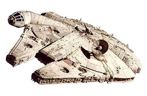 NEW 1:18 HOT WHEELS ELITE EDITION COLLECTION - ELITE MILLENNIUM FALCON STARSHIP - STAR WARS EPISODE VI: RETURN OF JED Diecast Model Car By Hot Wheels