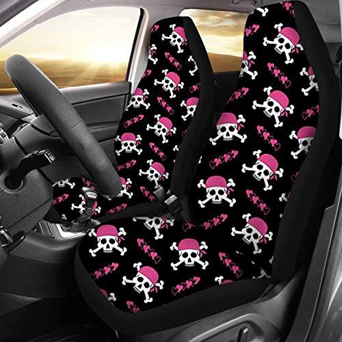 IUEFINUEN Auto-Front-Stoff-Koffer-Sitzabdeckungen Protector General für Sedan-SUVs (Color : 1)