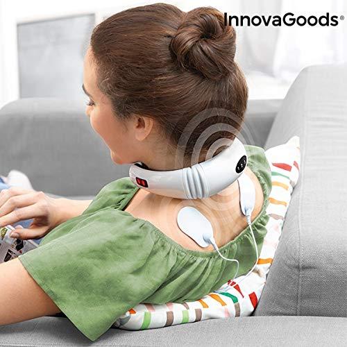 InnovaGoods Wellness Care - Masajeador de Cuello y Espalda Electromagnético