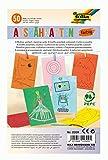 folia 2309 - Ausnähkarten farbig sortiert mit 8 Motiven einseitig bedruckt, 50 Blatt, ca. 11 x 17 cm, zum Ausmalen und Ausnähen, ideal für Kinder, Jungen und Mädchen, zum Einstieg in die Handarbeit