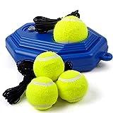 Entraîneur de Tennis, Convient aux débutants de Tennis pratiquant la Formation de Balle de Rebond d'entraînement d'auto-Apprentissage, 3 balles de Tennis d'entraînement ZDDAB