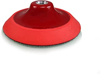 Torq R5 Rotary Backing Plate with Hyper Flex Technology, Red (5 Inch)