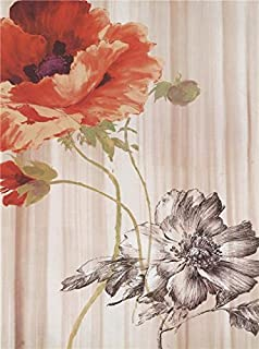 The Polyster Canvas Of Oil Painting 'Poppies In Full Bloom' ,size: 12x16 Inch / 30x41 Cm ,this Replica Art DecorativeCanvas Prints Is Fit For Dining Room Artwork And Home Artwork And Gifts