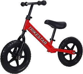 "Trike Star 12"" Ultra Lightweight Balance Bike, Red"