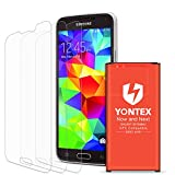 YONTEX Galaxy S5 Battery Replacement with NFC for Samsung