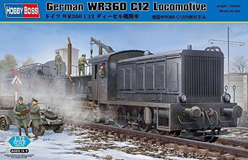 Hobby Boss 82913 modèle Kit German WR360 C12 Locomotive