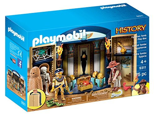 Playmobil Egyptian Tomb Play Box, Multicolor