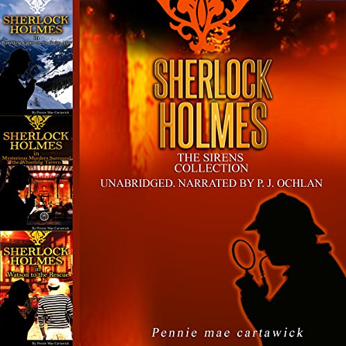 Sherlock Holmes: The Sirens Collection audiobook cover art