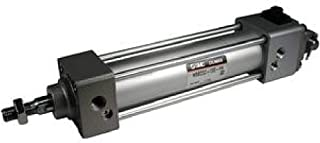 SMC Corporation MBBQ50-300B Air Cylinder, Low Friction, 50mm Bore, 300mm Stroke