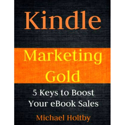 Kindle Marketing Gold audiobook cover art