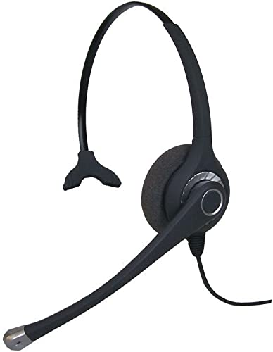 new arrival Polycom Compatible Headset Bundle - Headset popular and Telephone Interface Cable Included - Use outlet sale with Polycom IP Phones - Check Description outlet online sale