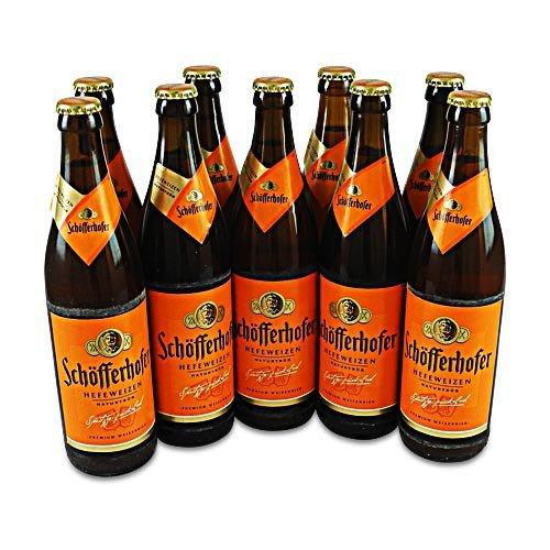 Schöfferhofer Weizen naturtrüb (9 Flaschen à 0,5 l / 5,0% vol.)