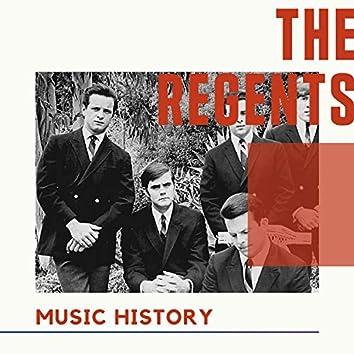 The Regents - Music History