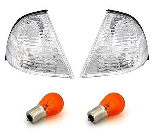 AD Tuning GmbH & Co. KG 960200 Lot de Clignotants Avant Verre Transparent Chrome