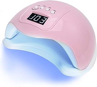 Secador de Esmalte de Uñas, Secador d Uñas Lámpara UV, Temporización Inteligente Led UV Gel Secador de Esmalte de Uñas Lámpara Máquina de Endurecimiento de Uñas para el Hogar Ajuste de Esmalte(F2)