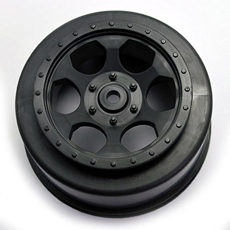 DE RACING DERSCTLRB Trinidad SC Wheels Losi XXXSCT Rear Black by DE Racing