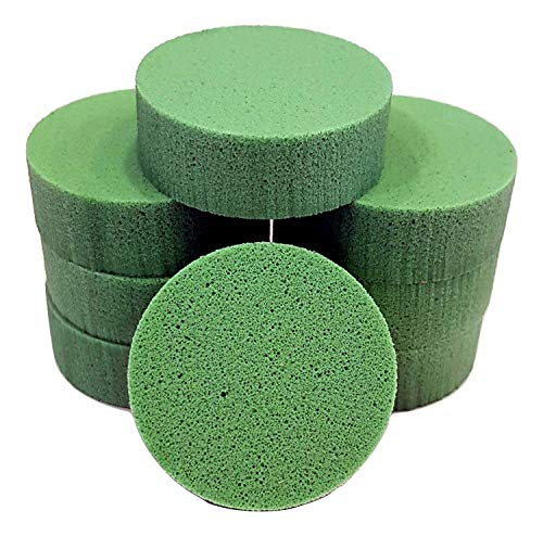 PolySound Sylo High-End Lautsprecher Füße, Schwingungsdämpfer 8er Set grün 15-30kg - materialschonend mit Wasser geschnitten - Nicht gestanzt - Made in Germany