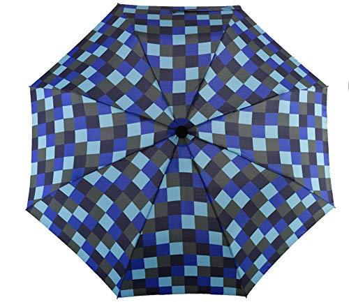 Euroschirm Swing handsfree der Sonnen-, Wander-, Regen- & Trekkingschirm Farbe Marineblau/olivgrün/königsblau/eisblau