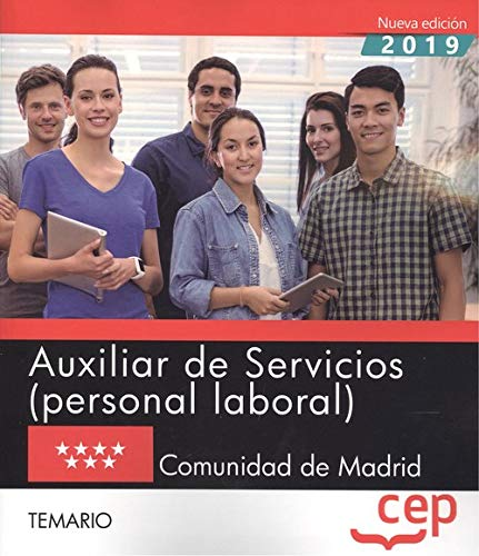 Auxiliar de servicios comunidad de madrid temario